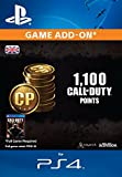 1,000 (+100 Bonus) Call of Duty Points [PS4 PSN Code - UK account]