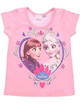 Mädchen T-Shirt, Disney Mädchen Frozen Shirt Rundhals Kurzarm T-Shirt