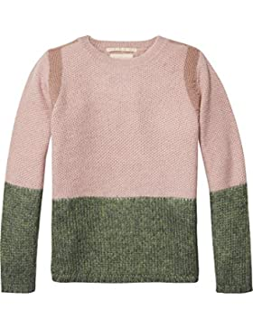 Scotch & Soda R'Belle Contrast Panelled Pullover, Suéter para Niñas
