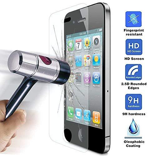 Protector Cristal Templado para iPhone 4 / 4S