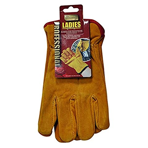 Pro Gold Ladies 'Bramble Gants de jardinage + Motivante Aimant