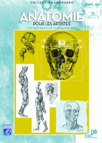 Lefranc Bourgeois Léonardo n°4 Album d'étude Anatomie pour artiste par From Lefranc & Bourgeois