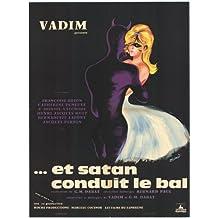 Satan Leads the Dance Affiche Movie Poster (27 x 40 Inches - 69cm x 102cm) (19...