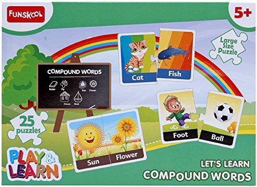 Play and Learn Compound Words, Multi Color