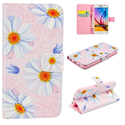 Apple iPhone 5 C Case [con protezione schermo libero], nanxi Colorful Nizza Pattern PU portafoglio in pelle con porta carte di credito slot Smart Custodia Folio Ultra Cover Skin Per Cell