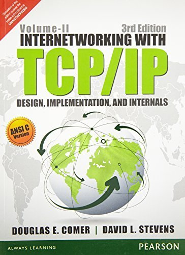 Internetworking With Tcp/Ip Vol. Ii: Ansi C Version: Design, Implementation, And Internals by David L. Stevens Douglas E. Comer (2015-01-01)