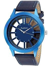 Austere Spectre Analog Blue Dail Men Watch (MSPC-030303)