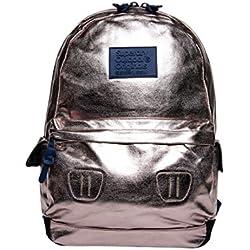 Superdry Foiled Montana - Bolso mochila de Material Sintético para mujer Rosa Rosa