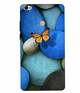 Snazzy Abstract Printed Colorful Hard Back Cover For Xiaomi Redmi MI MAX