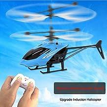 Fernbedienung Hubschrauber Fliegen Mini RC Infrarot Induktion Hubschrauber Flugzeug Blinklicht Spielzeug für Kinder
