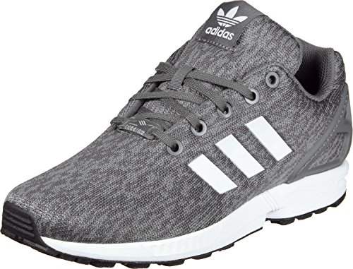adidas Unisex-Kinder Schuhe/Sneaker ZX Flux J grau 40