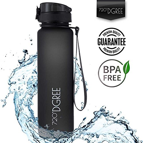 Water Bottle by 720°DGREE 1000ml 32oz | Made of Special Tritan Plastic...