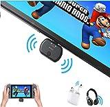 Golvery Bluetooth Transmitter für Nintendo Switch, Plug & Play USB TYPE-C Audio Adapter für...