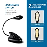 from TOPELEK TOPELEK Warm Light, 2 Brightness Setting Clip Light with Warm Lighting and Eye-protection, USB Rechargable, Portable Music Stand Creat a Comfortable Warmth Household Atmosphere for Reading Model GDGEHM170AB-UKAA2
