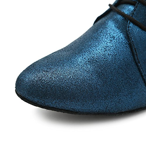 Minitoo , Salle de bal femme Blue-4cm Heel