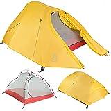 Paria Produits de Terrain Extérieur Tente Bryce Ultra-Légère – Parfaite pour Camping, Backpacking, Randonnées, en Kayak ou Bikepacking (1 personne)
