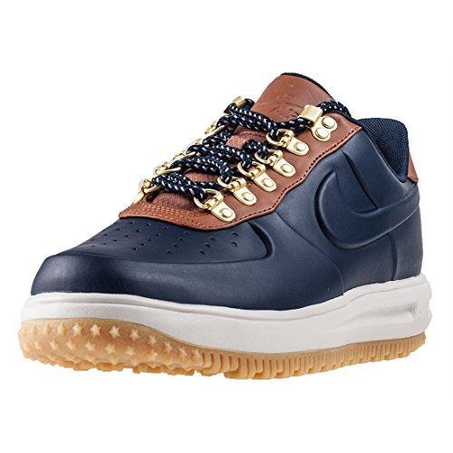 Nike LF1 Duckboot Low Herren Trainers AA1125 Sneakers Schuhe (UK 12 US 13 EU 47.5, Obsidian Saddle Brown 400) -