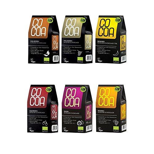 Raw Cocoa Bio Schokofrüchte 70 g (Alle Sorten in Roher Schokolade)