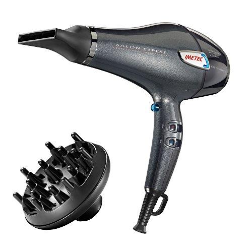 Imetec Salon Expert P5 3600 Asciugacapelli Professionale, 2300 W, Griglia con Rivestimento in Ceramica e Cheratina, Tecnologia a...