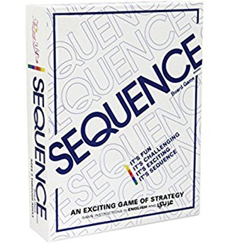 Sajani Sequence Family Card Board Game