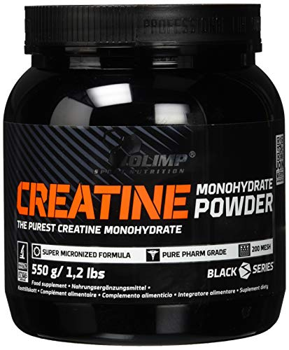 Olimp Creatine Monohydrate Powder | Pure Creatin Monohydrat in Pulverform | 550 g