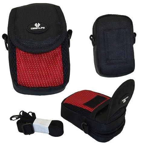Case4Life Kompaktkamera Kameratasche stoßfest für Canon Powershot + Elph A, SX, S Series inc S120, S200, A3500, SX610 HS, SX620 HS, SX240 HS, SX280 HS, A1400, A2400