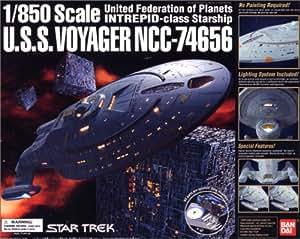 USS VOYAGER - NCC 74656 - Modell Bausatz 1/850 mit Licht von Bandai