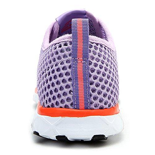 aleader Chaussures de séchage rapide Aqua Eau pour femme Violet - violet