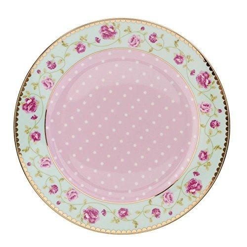 ller klein Kuchenteller Dessertteller Blumen ca. Ø 19 cm ()