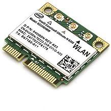 Intel WiFi Link Centrino ultimate-N 63006300AGN 802.11N Mini tarjeta 633anhmw mitad tamaño 450Mbps