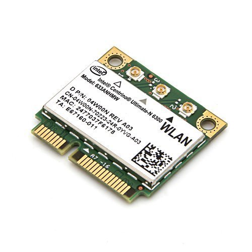 Intel WiFi Link Centrino Ultimate-n 6300 6300agn 802.11n Mini Card 633ANHMW Half SIZE 450Mbps Intel Wifi Link