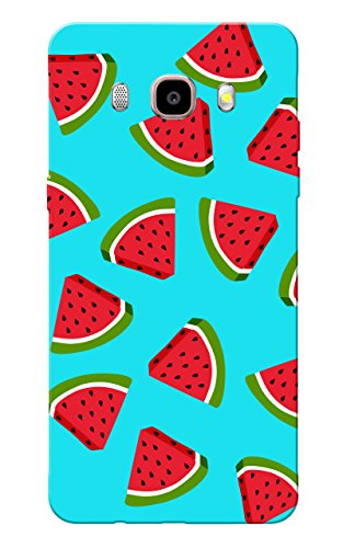 Galaxy On 8 Case, Watermelon Blue Slim Fit Hard Case Cover/Back Cover for Samsung Galaxy On 8  available at amazon for Rs.99