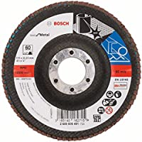 Bosch 2 608 605 451 - Disco de láminas - 115 mm, 22,23 mm, 60 (pack de 1)