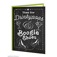 Drinkypoos & Boogie Shoes Birthday/Greetings Card