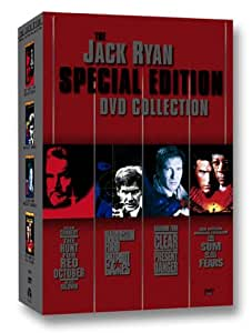The Jack Ryan Special Edition Collection (The Hunt for Red October/Patriot Games/Clear and Present Danger/The Sum of All Fears) [Import USA Zone 1]