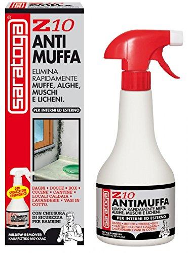 ANTIMUFFA SARATOGA Z10 500 ML Liquido antimuffa spray per tutte le...