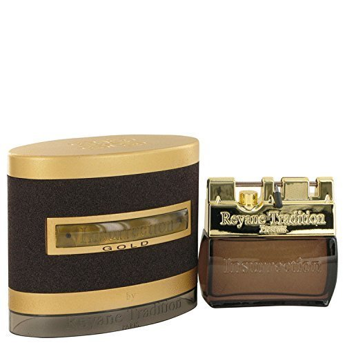 Insurrection Gold by Reyane Tradition Eau De Toilette Spray 100 ml for Men by Reyane