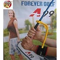 A99Winkel King Upgrade Golf Training Aids Swing Trainer Guide Praxis Marke + ein Paar Mehrzweck Sport Handgelenkbandage