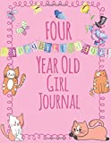 Best Gifts For A 4 Year Old Girls - Four Year Old Girls Journal: Blank and Wide Review