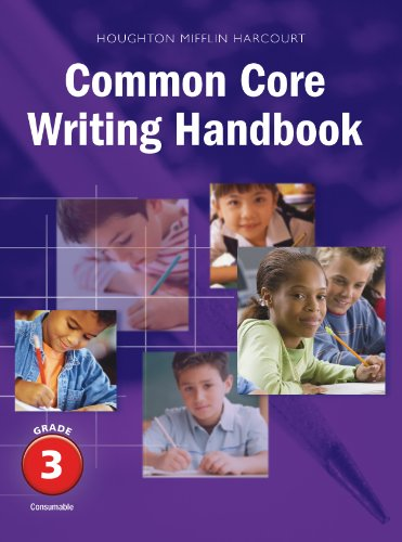 Journeys Common Core Writing Handbook Grade 3