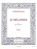 60 Mélodies en 3 Volumes, Volume 2 : 20 Mélodies