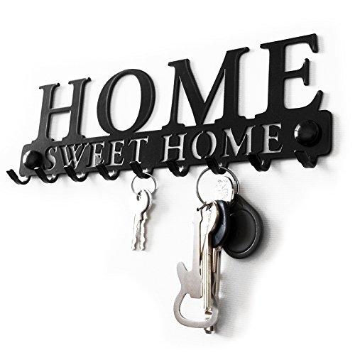 @ Pannello Appendi Chiavi da Parete Welcome Hoome Ganci Acciaio Appendiabiti Design Moderno Accessori per Casa Moderne Chiave Metallo Regalo Veranda lista dei prezzi