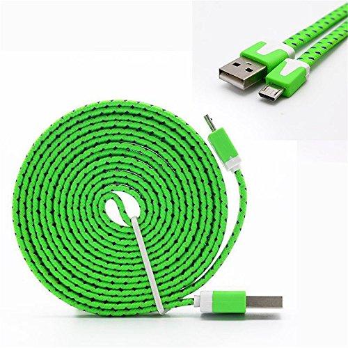 Preisvergleich Produktbild Outstanding® 3M Geflochtene Micro USB Kabel Daten Ladekabel für Android Phones