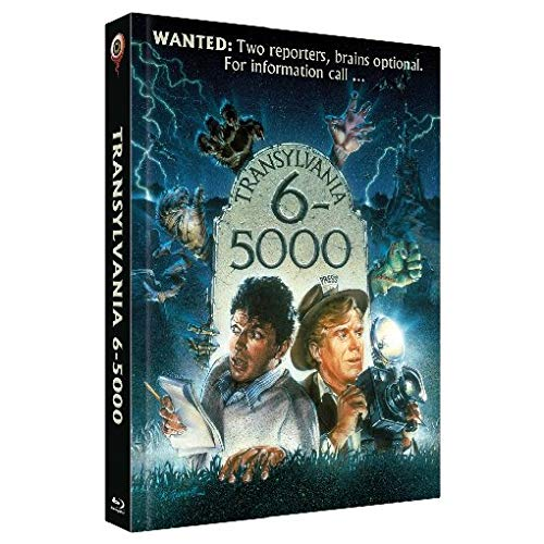 Transylvania 6-5000 - 2-Disc Limited Collector's Edition Nr. 28 - Limitiert auf 555 Stück, Cover A [Blu-ray]