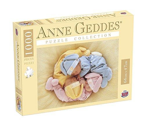 Grandi Giochi GG90100 - Puzzle Anna Geddes 1000 Pezzi, A Party Of...