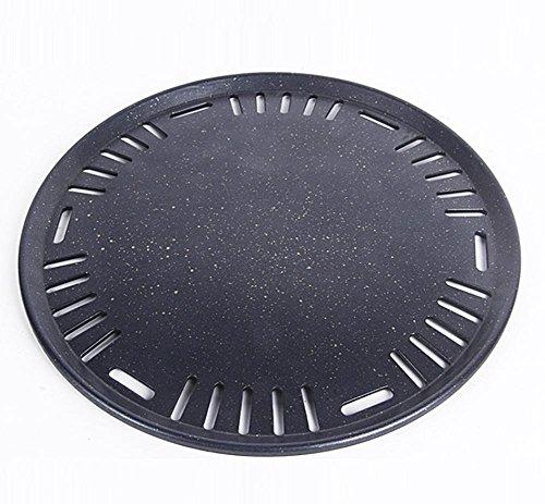 L'acciaio inossidabile cava griglia circolare padella antiaderente pan (Acciaio Inossidabile Rettangolare Pan)