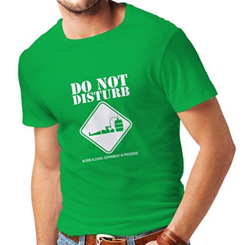 Lepni.me maglietta da uomo alcol del sangue esperimento in progresso - camicie divertenti da bere (x-large verde bianco)