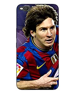 Case Cover Messi Printed Colorful Hard Back Cover For HTC One X9 Smartphon