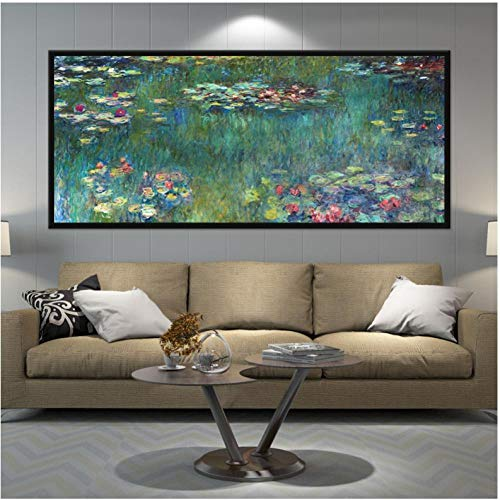 Shiyking Impresionista Lienzo Pintura Gran tamaño