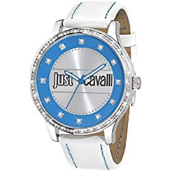 Just Cavalli Women's Quartz Watch R7251127505 with Leather Strap